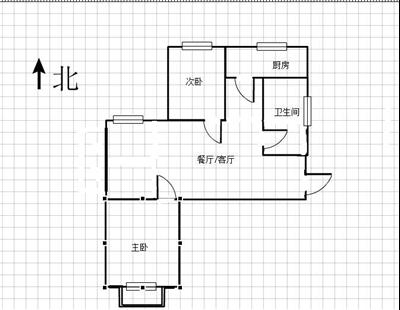 融悦华庭 出售2室2厅1卫 85平 150万