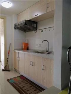 万科爱情公寓 出租2室1厅1卫 42平 1500元/每月