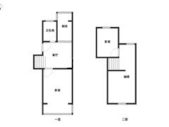 星辰花园 出售3室1厅1卫 52平 82万