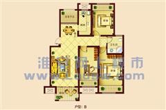 中央华府 出售3室1厅1卫 99平 150万