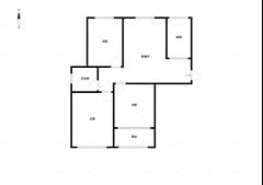 万和家园 出售3室1厅1卫 89平 148万