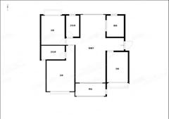 雅居乐花园 出售3室2厅2卫 116平 225万