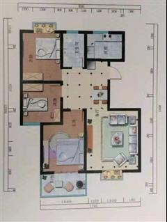通成山庄 出售3室2厅1卫 113平 98万