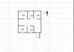 恒佳花苑 出售3室2厅1卫 104平 179万