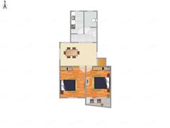 学田苑 出售2室1厅1卫 69平 175万
