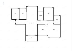 雅居乐花园 出售4室2厅2卫 133.38平 260万