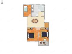 北郭东村 出售3室1厅1卫 84平 175万