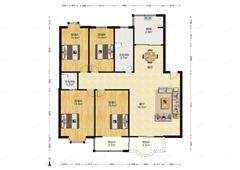 鑫乾花园 出售4室2厅2卫 190平 455万