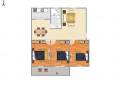 中远小区 出售3室2厅1卫 115.61平 186万
