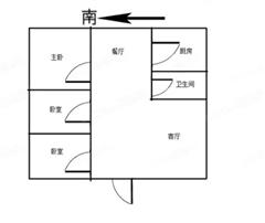 海州二院宿舍楼 出售3室1厅1卫 83.46平 72万