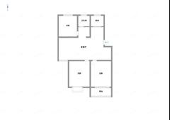 和达雅苑B区 出售3室2厅1卫 108平 120万