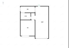 世家花园 出售1室2厅1卫 72平 105万
