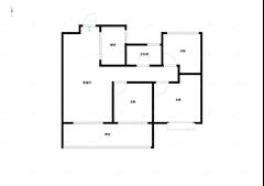 时光漫城 出售3室1厅1卫 94平 172.8万